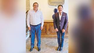 Abordan proyectos Gobernador Cuauhtémoc Blanco y diputado federal Ignacio Mier 2