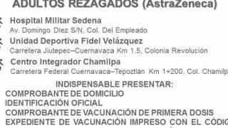 Rezagados podrán seguirse vacunando en Cuernavaca. Aquí los detalles: 2