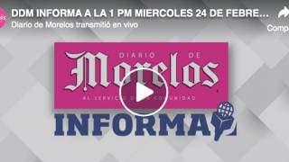 DDM INFORMA MIERCOLES 24 DE FEBRERO 2021