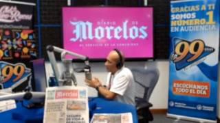DIARIO DE MORELOS INFORMA A LA 1 PM 28 DE MAYO  2