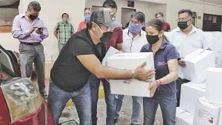 Arranca entrega de paquetes alimentarios en Cuernavaca 2