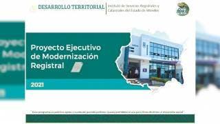 Modernizan registros públicos catastrales en Morelos 2