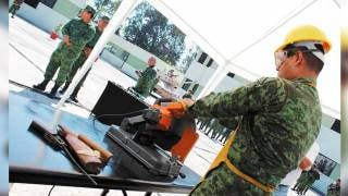 Destruye Sedena 101 armas decomisadas en Morelos 2