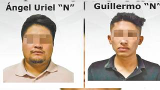 Detienen a dos por extorsión en Morelos 2