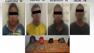 Detienen a 4 en Yautepec por vender marihuana 2
