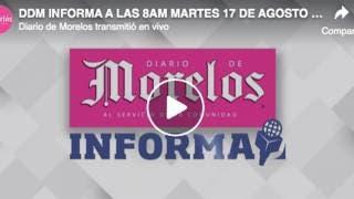DIARIO DE MORELOS INFORMA A LAS 8AM  MAR...