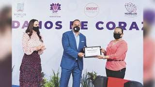 Trabajan Natalia Rezende y el DIF por la inclusión 2