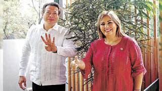 Respalda Lucía Meza a diputado Mario Delgado para dirigencia de Morena 2