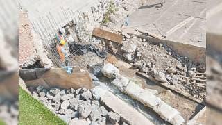 Acuerdan reparar drenaje y barda en Chapultepec, Cuernavaca 2