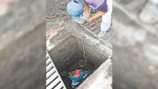 Alista SAPAC Cuernavaca red de drenaje para temporada de lluvias 2