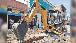 Reparan drenaje en Chipitlán, Cuernavaca 2