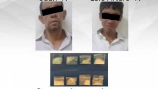 Detienen a 2 sujetos con drogas en Jiutepec 2