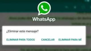 ¿Cómo eliminar un mensaje de WhatsApp después de unos minutos? 2