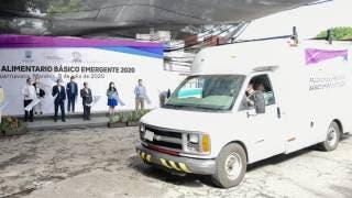 Inicia entrega de despensas en Morelos a familias afectadas por COVID-19 2
