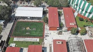 Terminan al 100% escuela dañada por sismo en Zacatepec 2