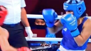 Boxeadora Esmeralda Falcón, que estudia en Cuautla, pierde en debut en Tokio 2020 2