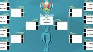 Así se jugarán los octavos de final en la Eurocopa 2