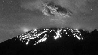 Popocatépetl sorprende con explosión durante la madrugada 2