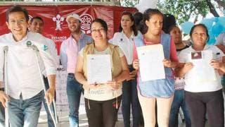 Evento. En la colonia Chapultepec, vecinos hacen demostración de lo realizado en el Centro Comunitario.