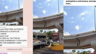 Usuarios usan foto de distribuidor vial de Cuernavaca y piensan que es de CDMX 2