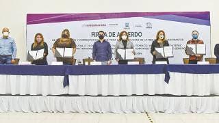 Firman en Morelos acuerdo vs violencia 2