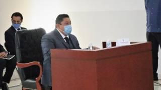 Presenta fiscal Uriel Carmona informe en Congreso de Morelos 2