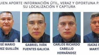 Busca Fiscalía a 4 policías asignados a Yautepec; dará recompensa 2