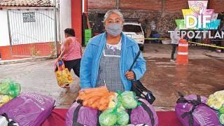 Reparten apoyos en Tepoztlán 2