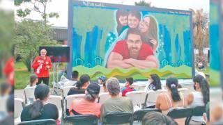 Entrega Haddad mural para disfrute de las familias de Lomas de Ahuatlán, Cuernavaca 2