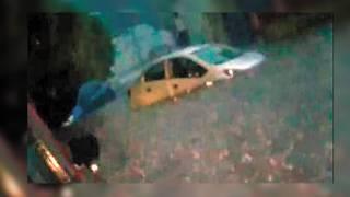 Encharcamientos y autos varados, tras granizada en Cuernavaca 2