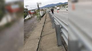 Grieta en muro de Paso Express de Cuernavaca fue por falta de mantenimiento 2