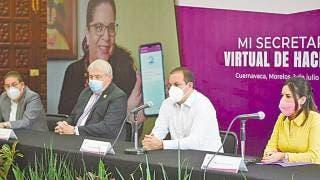 """Presentan en Morelos App """"Mi Secretaría de Hacienda virtual"""" para agilizar pagos 2"""