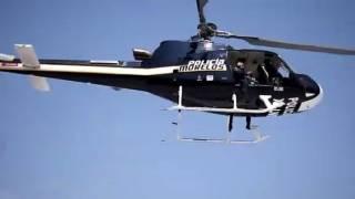 Atacan a balazos helicóptero de CES tras ser perseguidos por robar camioneta 2
