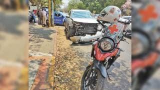 Cinco heridos por choque en crucero de colonia Vista Hermosa, Cuernavaca 2