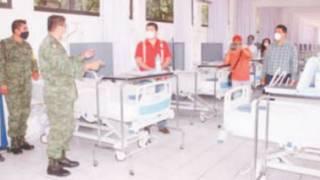 Se suma Sedena en Morelos con tres hospitales a la atención de COVID-19 2