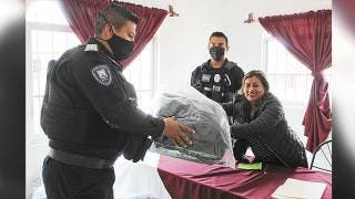 Estrenan uniformes policías de Huitzilac 2
