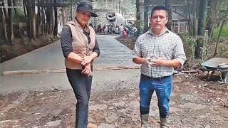Rehabilitan una calle en comunidad de Huitzilac 2