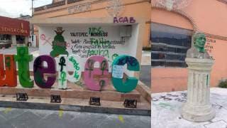 Reprueban en Yautepec el vandalismo de feministas hacia monumentos históricos 2