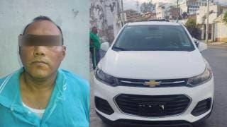 Ex comandante de la Policía Vial de Cuernavaca, detenido con camioneta robada 2