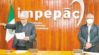 Da confianza Impepac para proceso electoral en Morelos 2