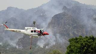 Reporte sobre el incendio ocurrido en Tepoztlán, al corte de esta noche 2