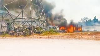 Al menos 15 vehículos se quemaron en incendio de Jiutepec 2