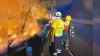 Prevén más humareda por incendios en Morelos 2