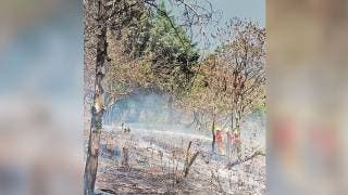 Atienden incendios en Huitzilac 2