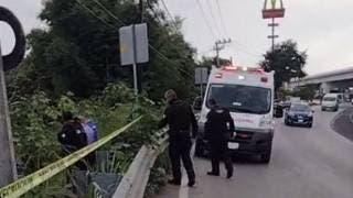 Hallan cadáver de posible indigente a un lado de la autopista México-Cuernavaca, en El Polvorín 2
