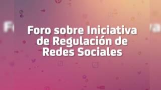 Foro sobre iniciativa de regulación de redes sociales 2