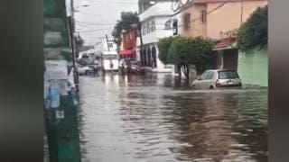Así luce la calle Aguascalientes Colonia...