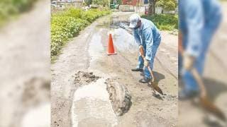Reportan inundaciones en Yautepec por las lluvias 2