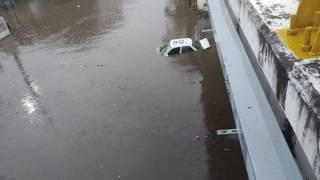 Múltiples daños por lluvias: 11 personas rescatadas y 7 autos inundados en Morelos 2