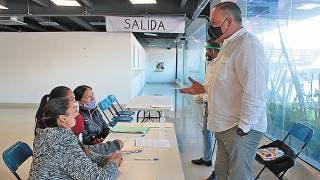 Firman convenio con Jefas de Familia de Morelos 2